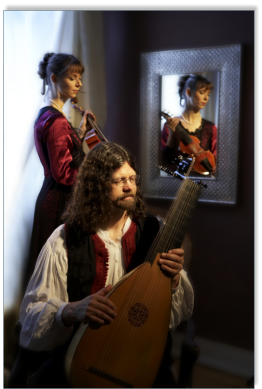 Duo Kirchhof with Baroque Instruments